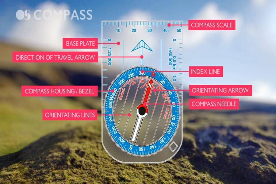 components of the compass
