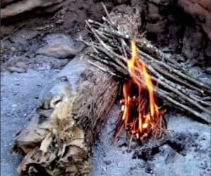 Lean-to Fire Lay Style Image
