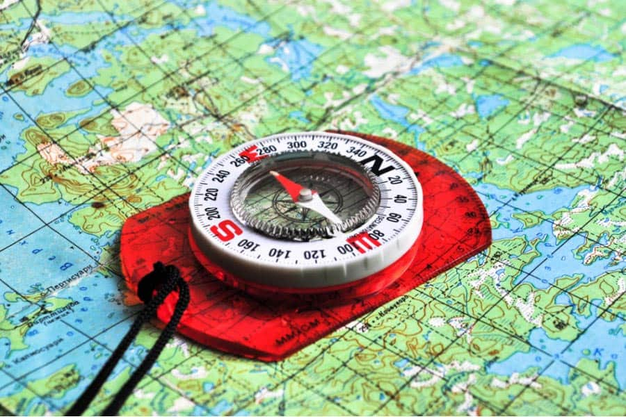 Orienting-the-map