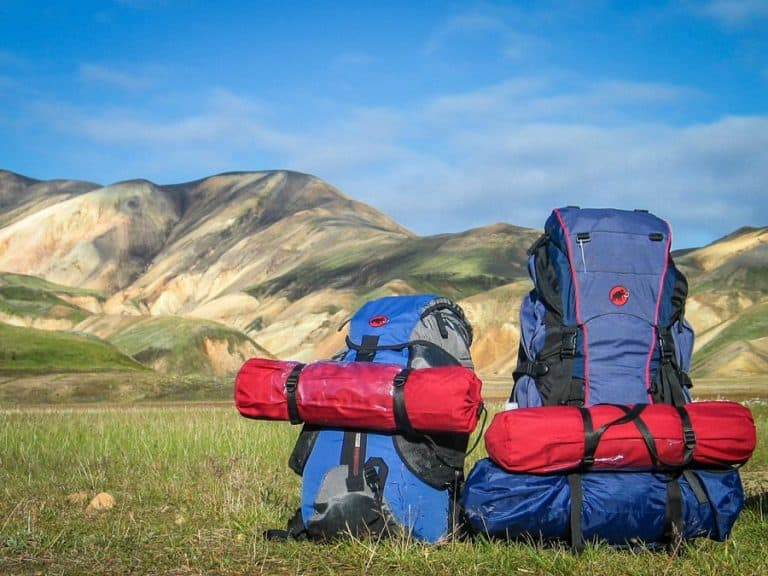 camping equipment - backpack