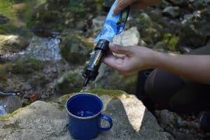 camping water filter / purifier