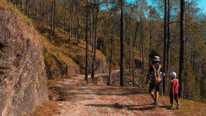 do not hike long-distance