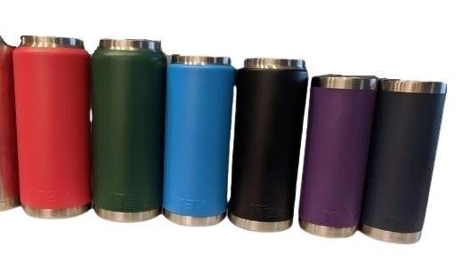 Different colors Yeti Bottles