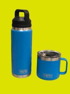 Two Yeti Bottles