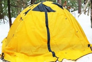 GEERTOP Backpacking For 2 Person 4 Season Camping Tent