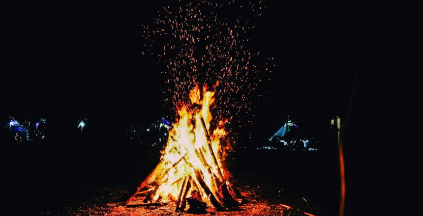 Canva - Bonfire During Evening