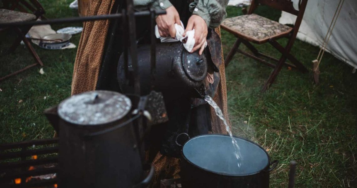 Canva - Person Pouring Water on Cooking Pot