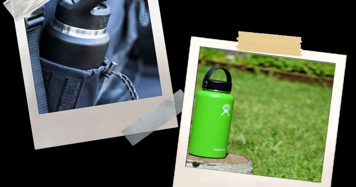 Hydro Flask and Yeti Bottle side by side